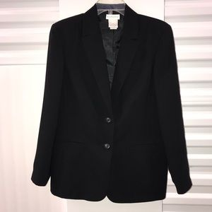 Worthington Women's Black Suit Blazer Sz 12
